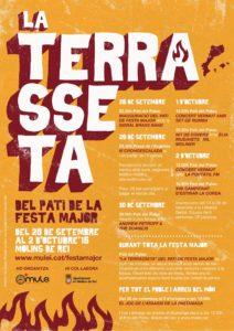 Vespre a dos temps amb Andrew Petroff & The Suahilis - La Terrasseta @ Pati de Festa Major